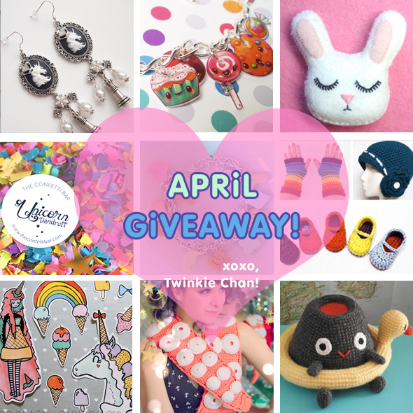 Giveaway-April