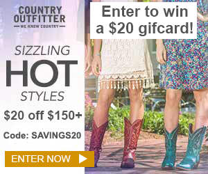 Country Outfitter Giveaway: Learn more...