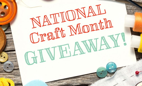 NationalCraftMonthGiveaway